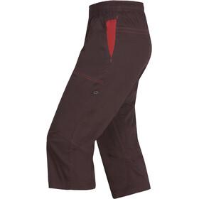 Ocun Jaws Pantalones 3/4 Hombre, chocolate
